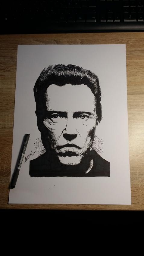 Christopher Walken by GIKAS